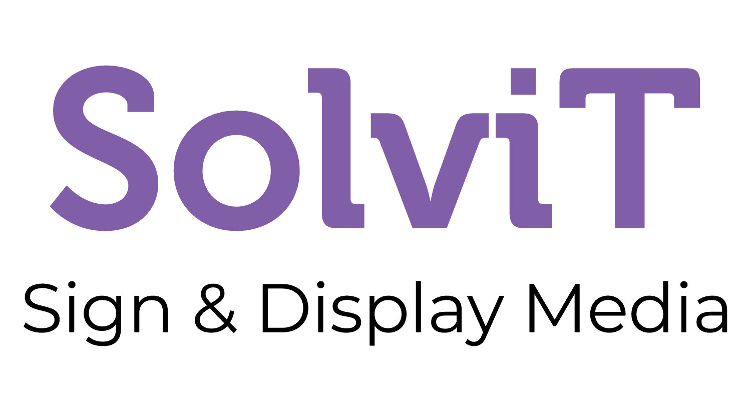 Solvit Sign and display media
